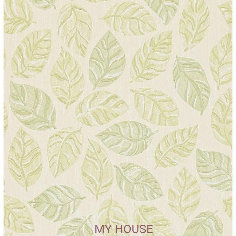 Обои Bloomsbury 211088 Woodlands Emerald/Green Sanderson