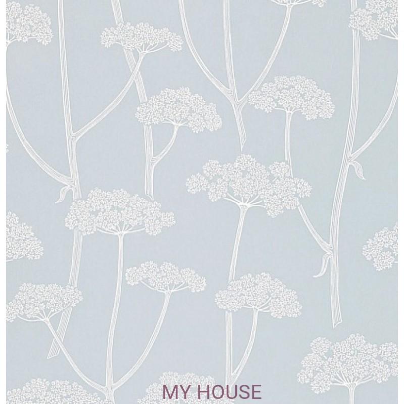 Обои Colour For Living 211648 Anise Powder Blue/Ivory Sanderson