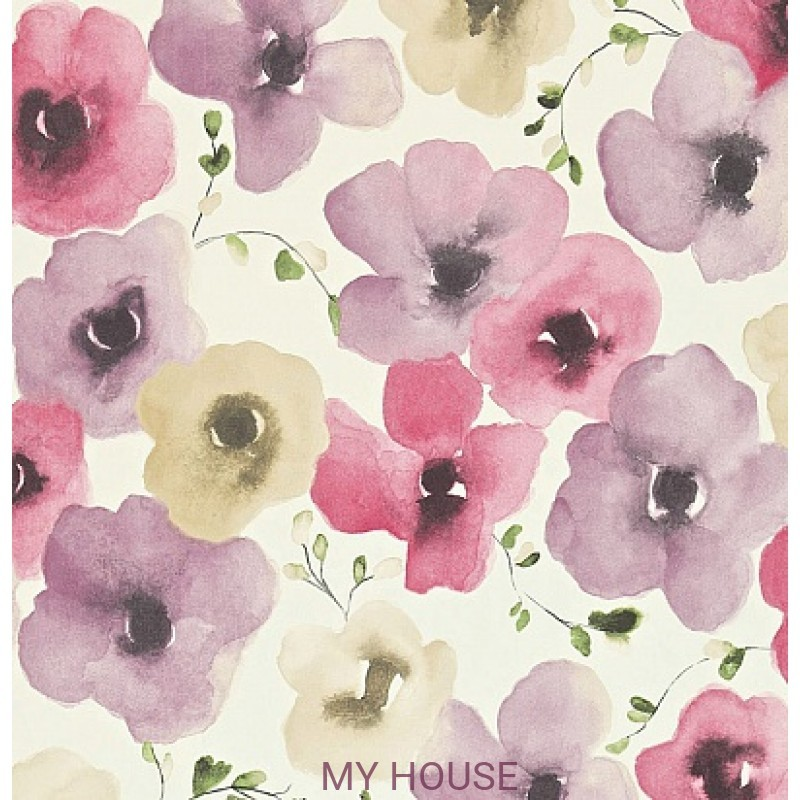 Обои Colour For Living 211659 Inari Pink/Mauve Sanderson