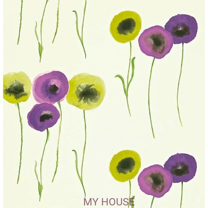 Обои Colour For Living 211665 Poppies Catkin/Blackberry Sanderso