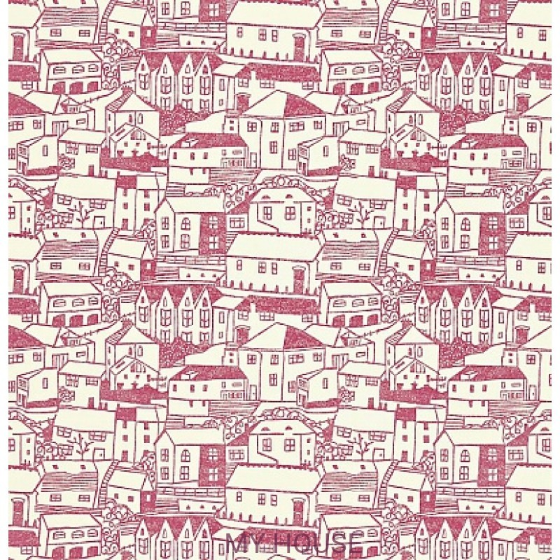 Обои Colour For Living 211674 St Ives Pink/Cream Sanderson