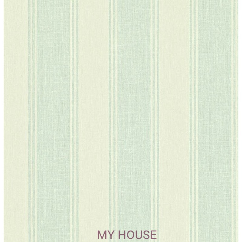 Обои Maycott 211977 Addison Stripe - Duck Egg/Cream Sanderson