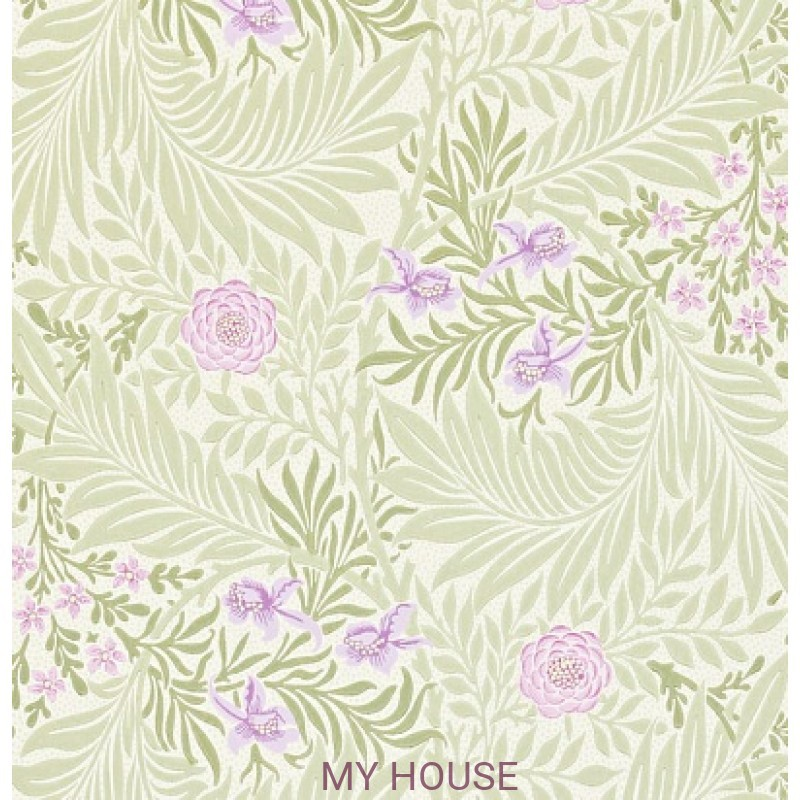 Обои Morris Archive II 212555 Larkspur Olive/Lilac Morris&Co