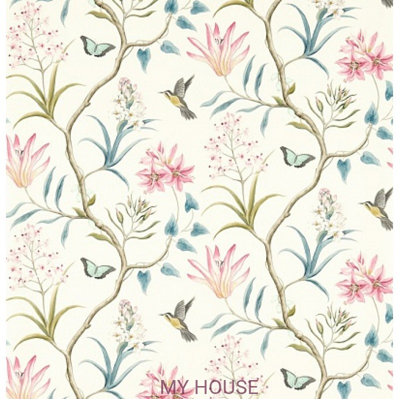 Обои Voyage of Discovery 213386 Clementine Dusky Pink Sanderson