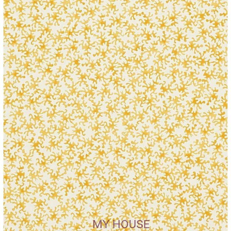 Обои Emma Bridgewater 213630 Coral Lion Yellow Sanderson