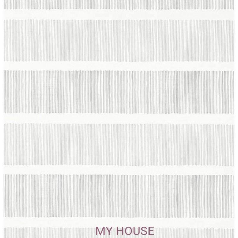Обои Chika 213739 Tatami Stripe Silver/linen Sanderson