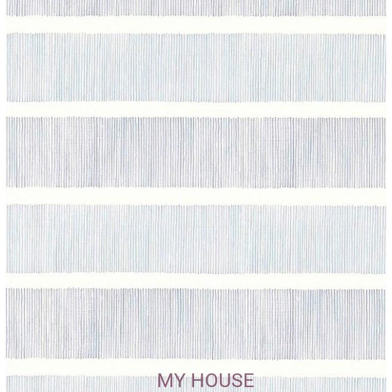 Обои Chika 213740 Tatami Stripe Indigo/blue Sanderson