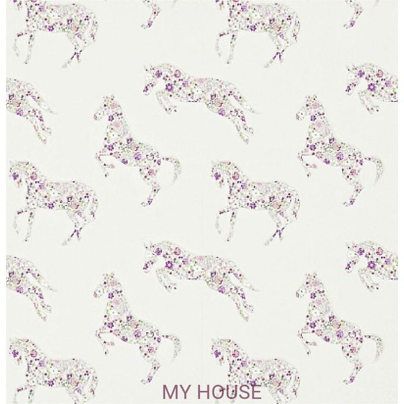 Обои Abracazoo 214034 Pretty Ponies Lavender Sanderson