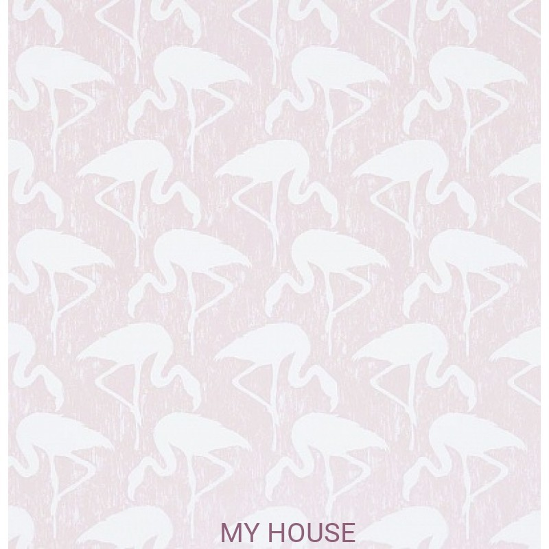 Обои Vintage 2 214565 Flamingos Blush/Ivory Sanderson