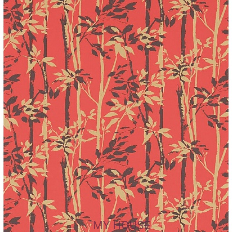 Обои Vintage 2 214574 Beechgrove Red/Gold Sanderson