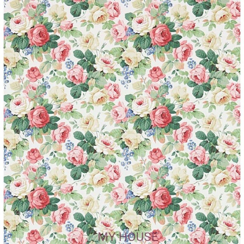 Обои Vintage 2 214606 Chelsea White/Pink Sanderson