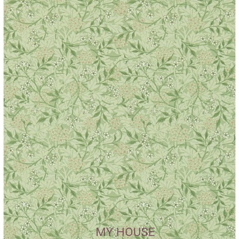 Обои Обои 214722 Jasmine Sage/Leaf Morris&Co