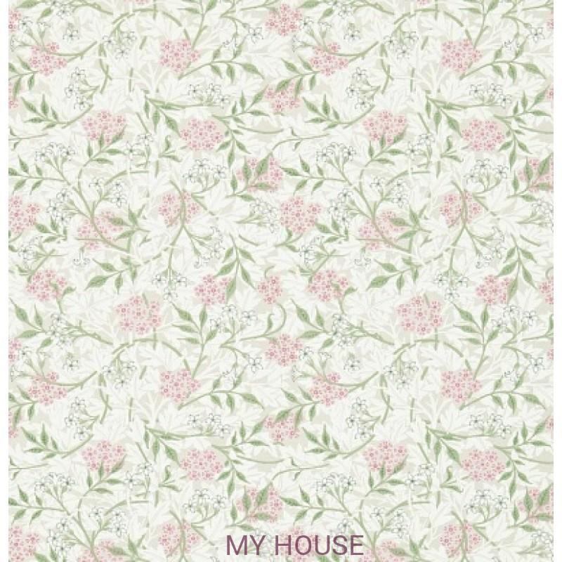Обои Обои 214725 Jasmine Blossom Pink/Sage Morris&Co