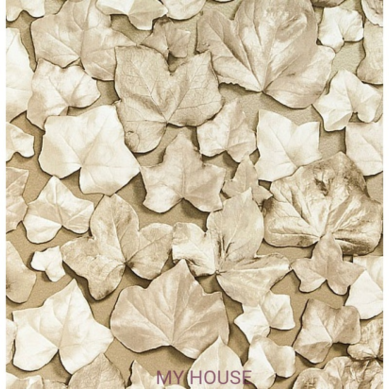 Обои Quartz 310980 Ivy Leaf Gold Zoffany