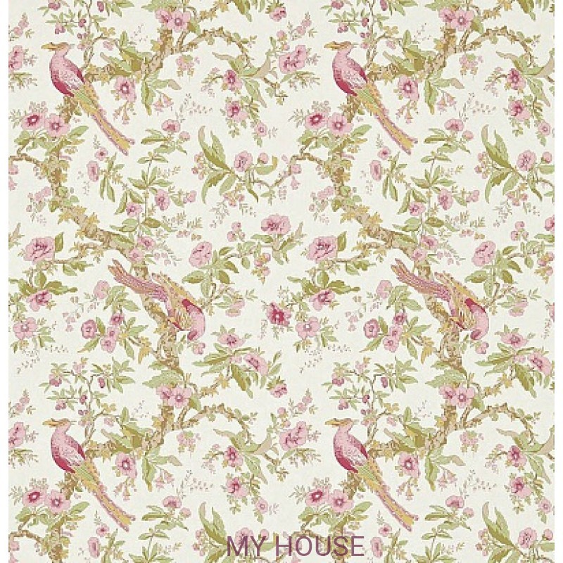 Обои Woodville Papers 311326 Chintz Rose Zoffany