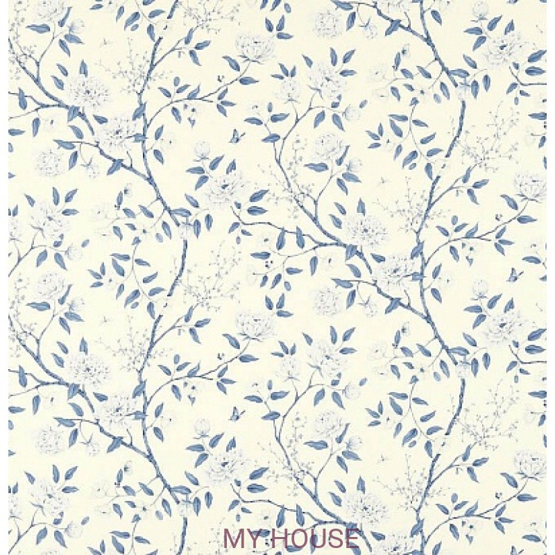 Обои Woodville Papers 311334 Romey`s Garden Porcelain Zoffany