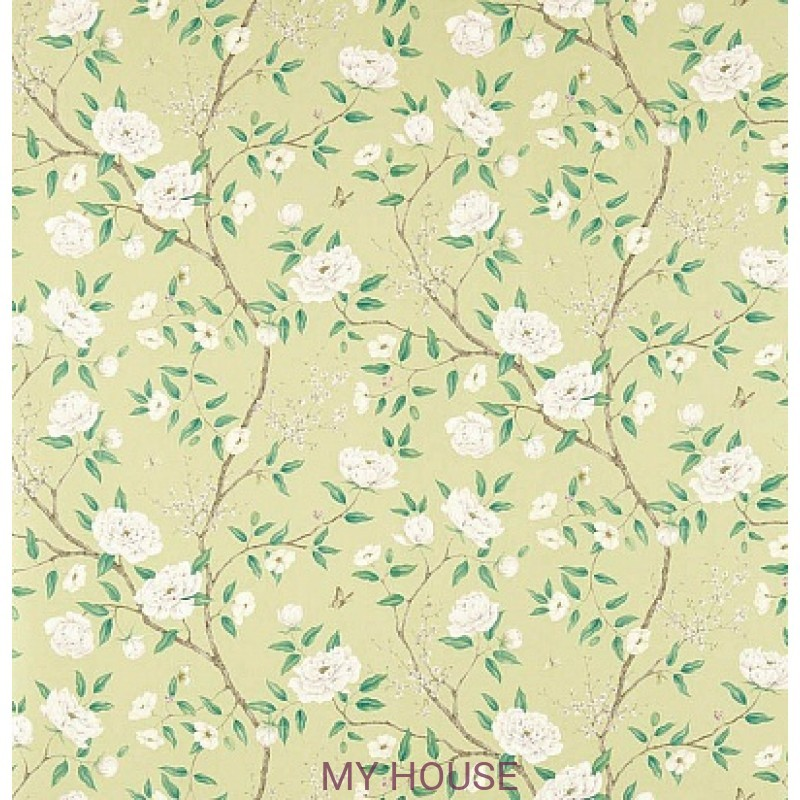 Обои Woodville Papers 311337 Romey`s Garden Old Gold Zoffany