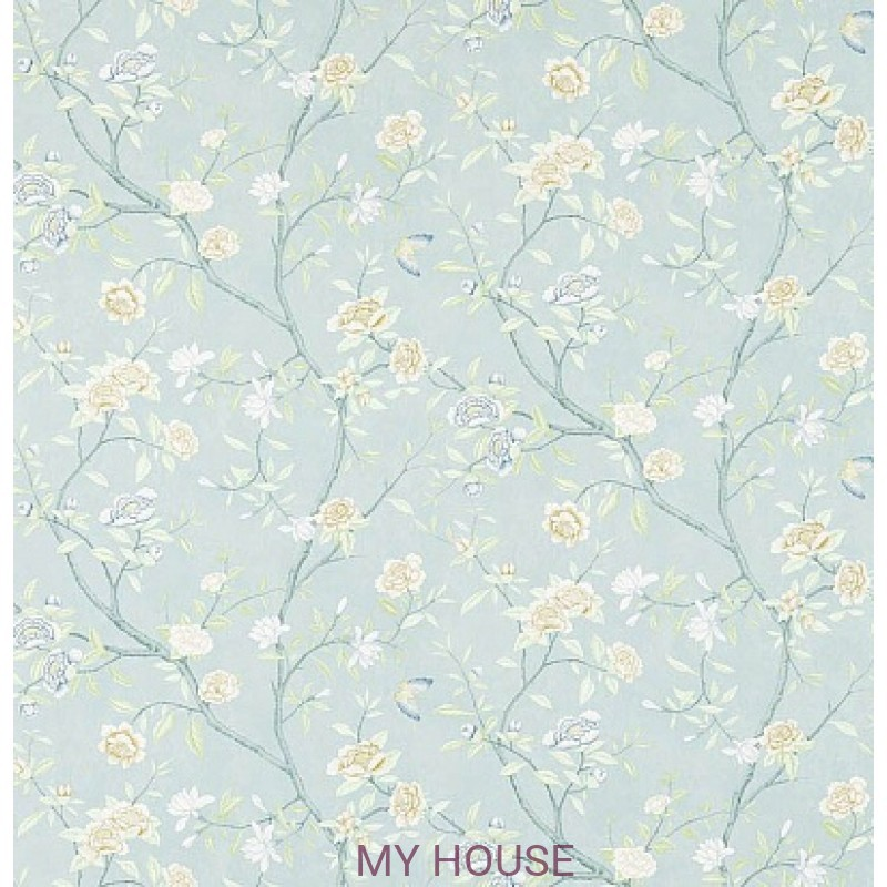 Обои Woodville Papers 311419 Nostell Priory Blue/Ivory Zoffany