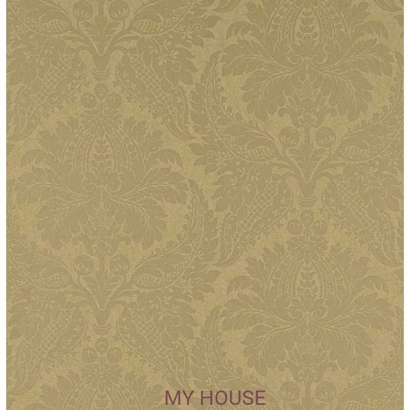 Обои Constantina Damask 311996 Malmaison damask old gold Zoffany
