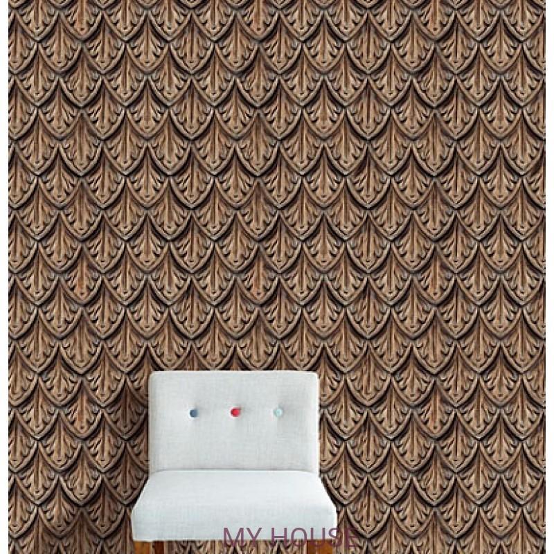 Обои Wallpower Rhythm 330000 Panel Cut and Carve Eijffinger