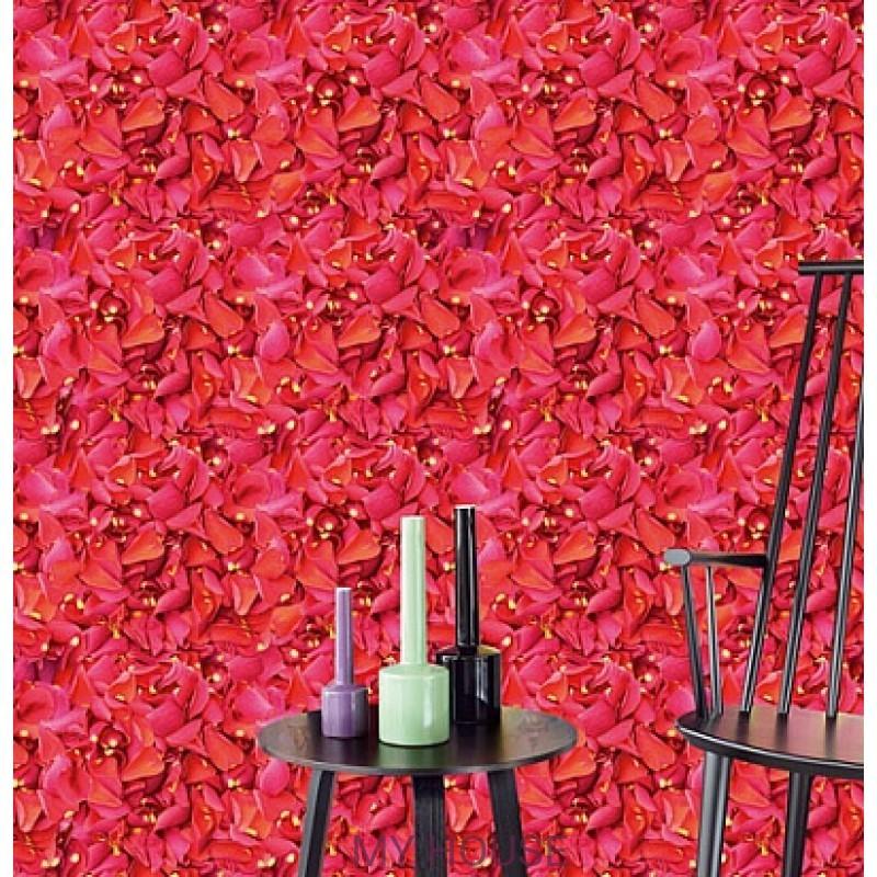 Обои Wallpower Rhythm 330001 Panel Rambling Roses Eijffinger