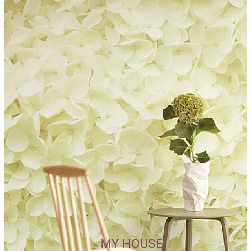Обои Wallpower Rhythm 330023 Panel Fresh Flowers Eijffinger