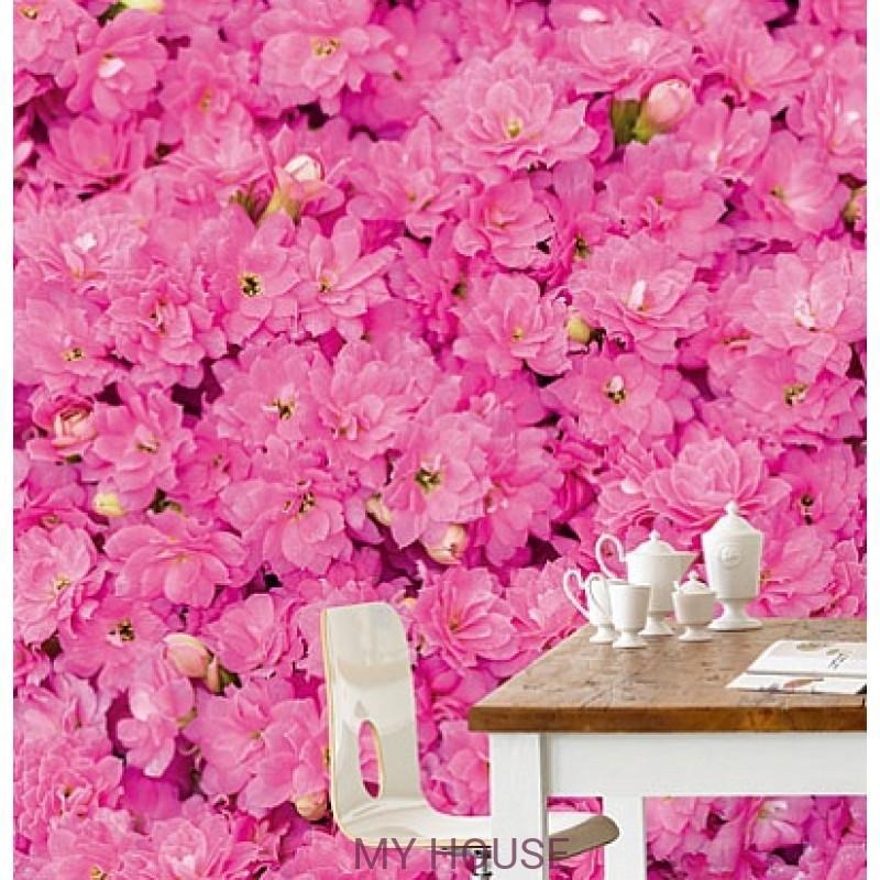 Обои Wallpower Rhythm 330032 Panel Pretty in Pink Eijffinger