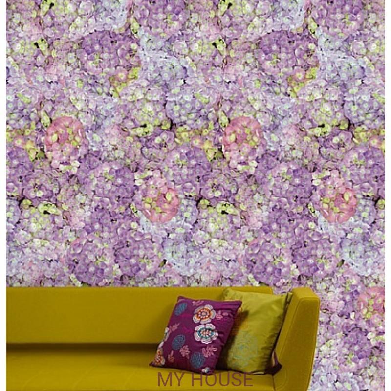 Обои Wallpower Rhythm 330036 Panel Full-colour Floral Eijffinger