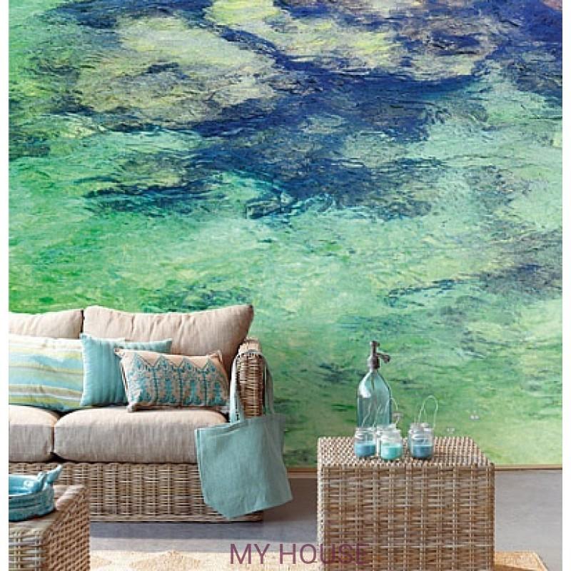 Обои Ibiza 330287 Panel el Aqua Eijffinger