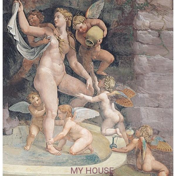 фреска итальянская Палаццо Тэ в стиле...