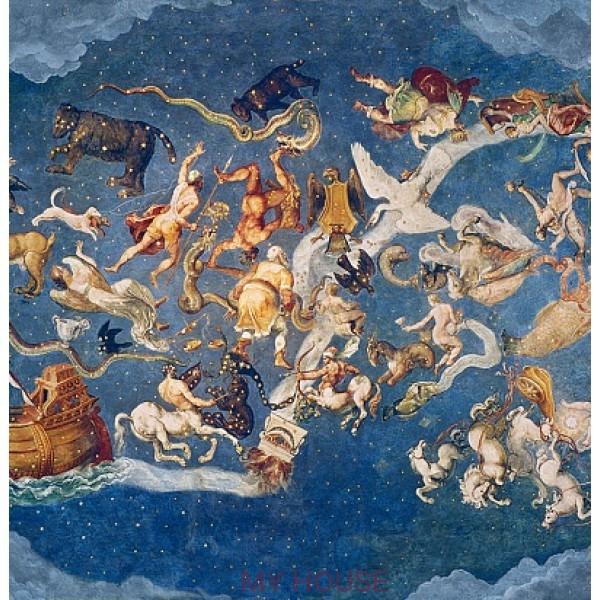 фреска итальянская Знаки Зодиака AM110
