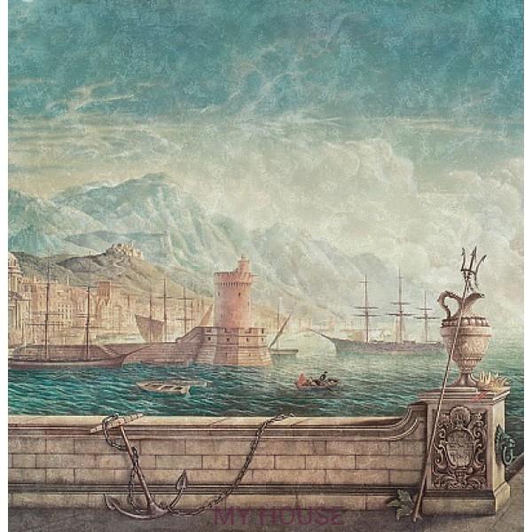 фреска итальянская Порто Сант Анджело...