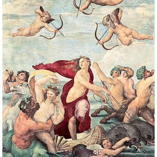 фреска итальянская Триумф Галатеи в...