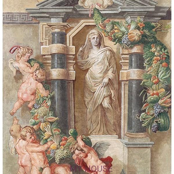 фреска итальянская статуя Цереры AM114