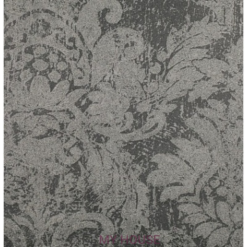 Обои Astratto Wallcoverings W389/02 Lietti Grey Seal Black Editi