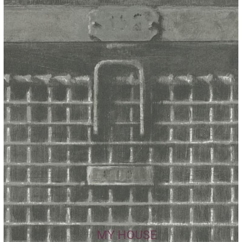 Обои Attic Basket Steel BSK02 Andrew Martin