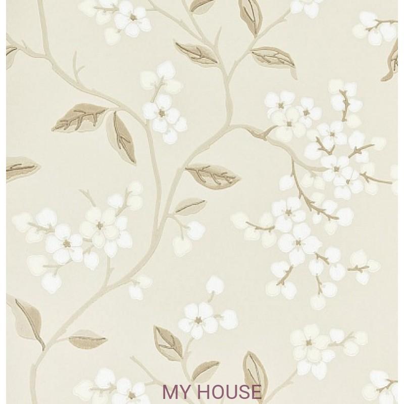 Обои Crayford BW45039/4 Apple Blossom Ivory/Beige/Stone GP&J