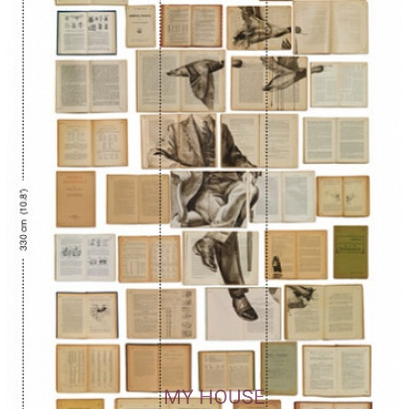 Обои Biblioteka Wallpaper EKA-01 NLXL