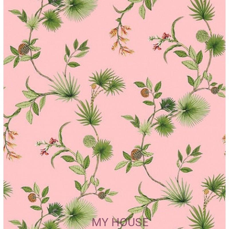 Обои Biscayne T5765 De soto Pink THIBAUT