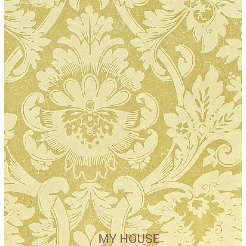 Обои Classic Damask Wallpaper CDW04008 Versailles Green Zoffany