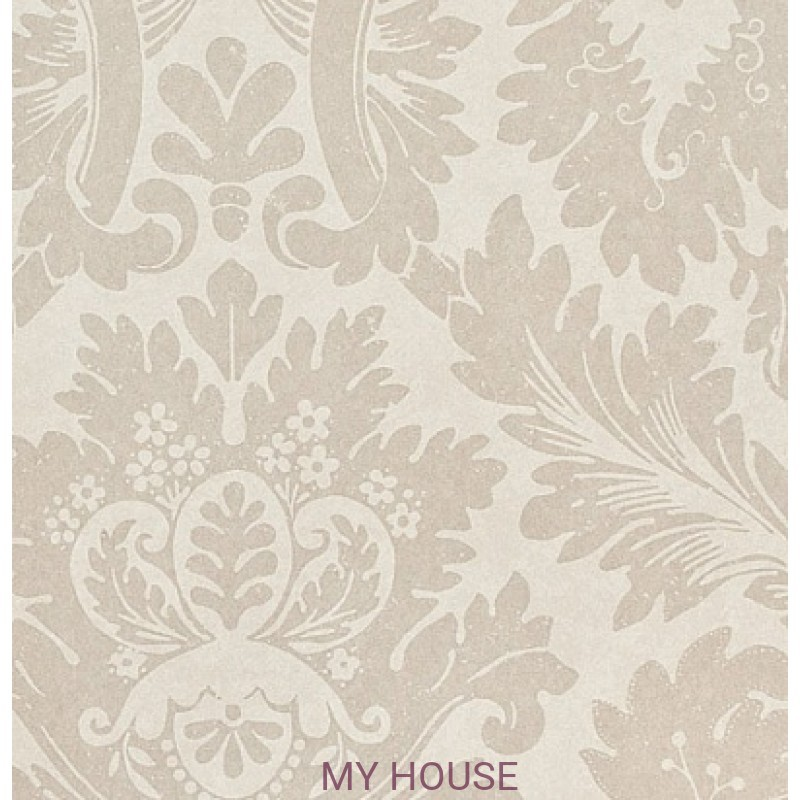 Обои Classic Damask Wallpaper CDW04013 Versailles Silver Zoffany