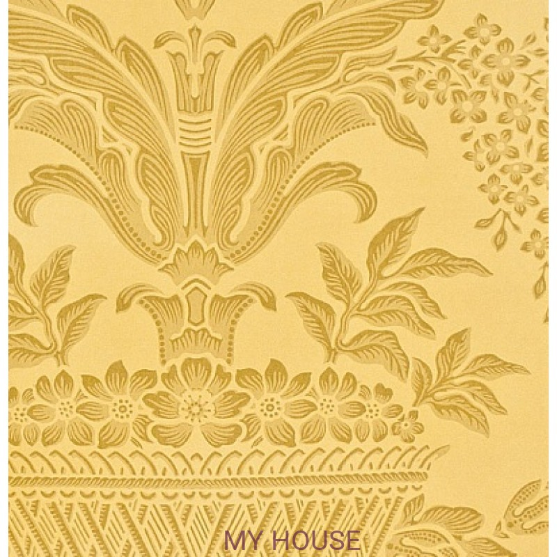 Обои Classic Damask Wallpaper CDW08002 Long Gallery Gold Zoffany