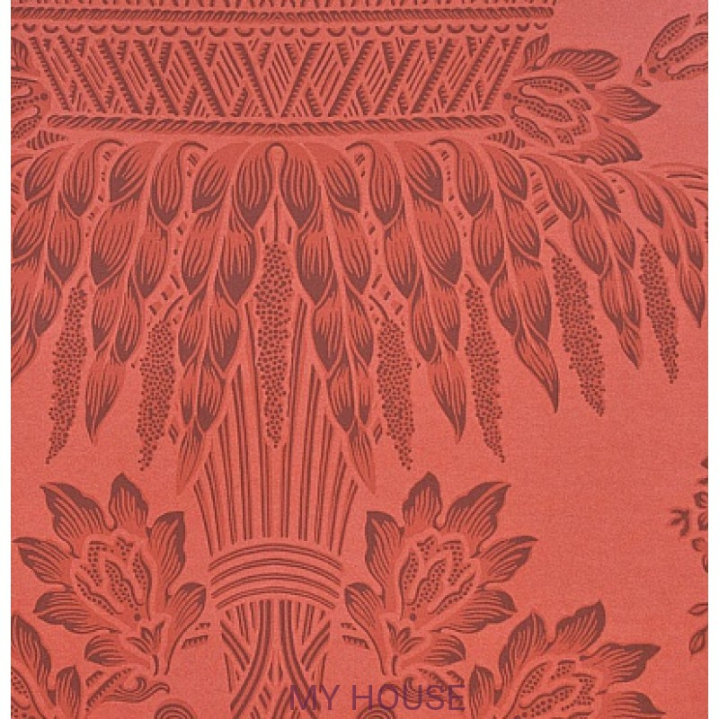 Обои Classic Damask Wallpaper CDW08004 Long Gallery Red Zoffany