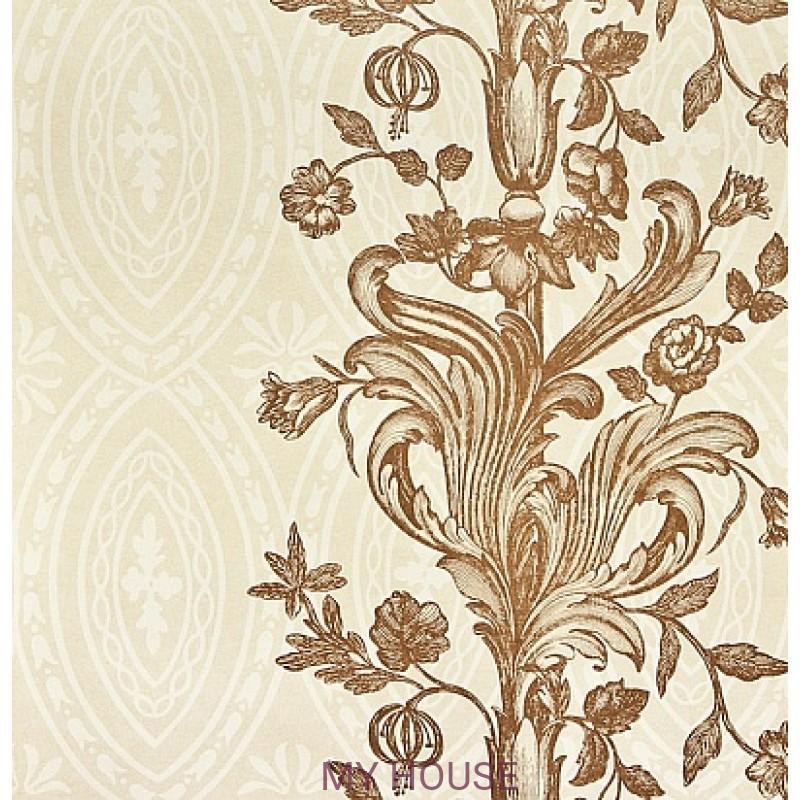 Обои Chantemerle Wallpaper CHP01001 Chantemerle-Cream/Copper Zof