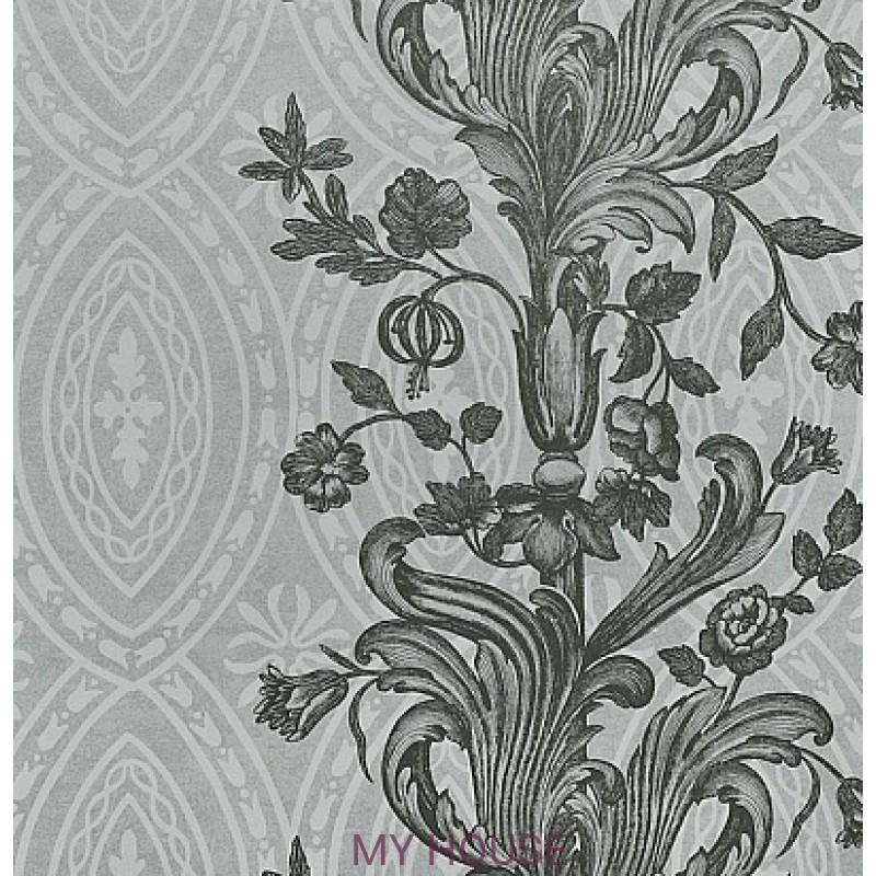 Обои Chantemerle Wallpaper CHP01005 Chantemerle-Gray/Silver Zoff