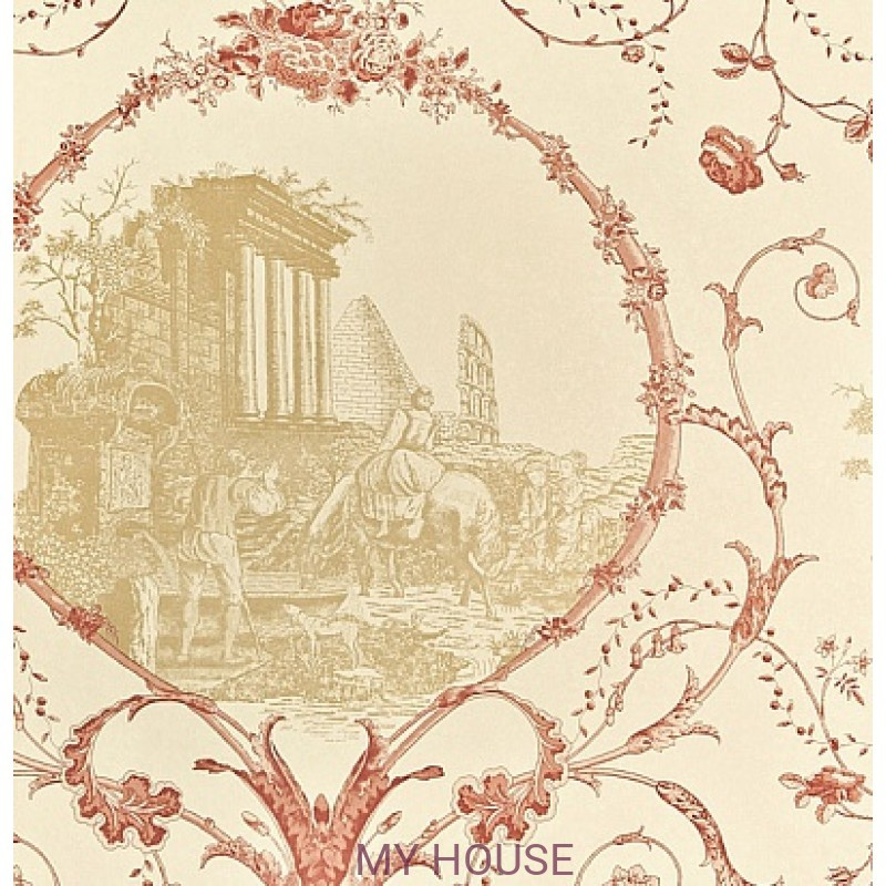 Обои Chantemerle Wallpaper CHP06002 Au Pied Ruines-Rad Zoffany