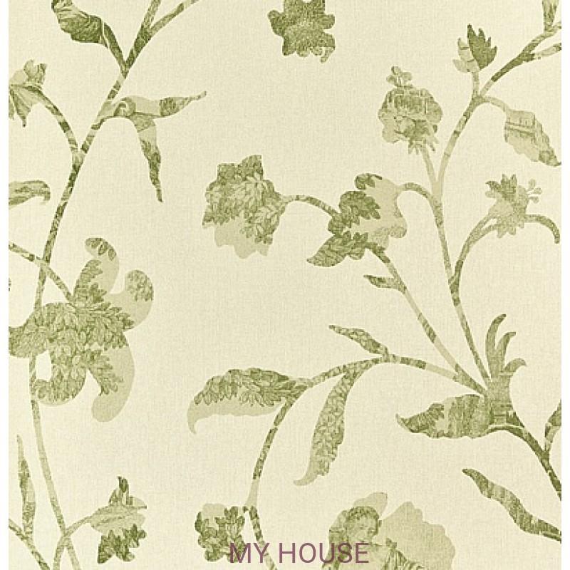 Обои Chantemerle Wallpaper CHP08004 Coromander-Green Zoffany
