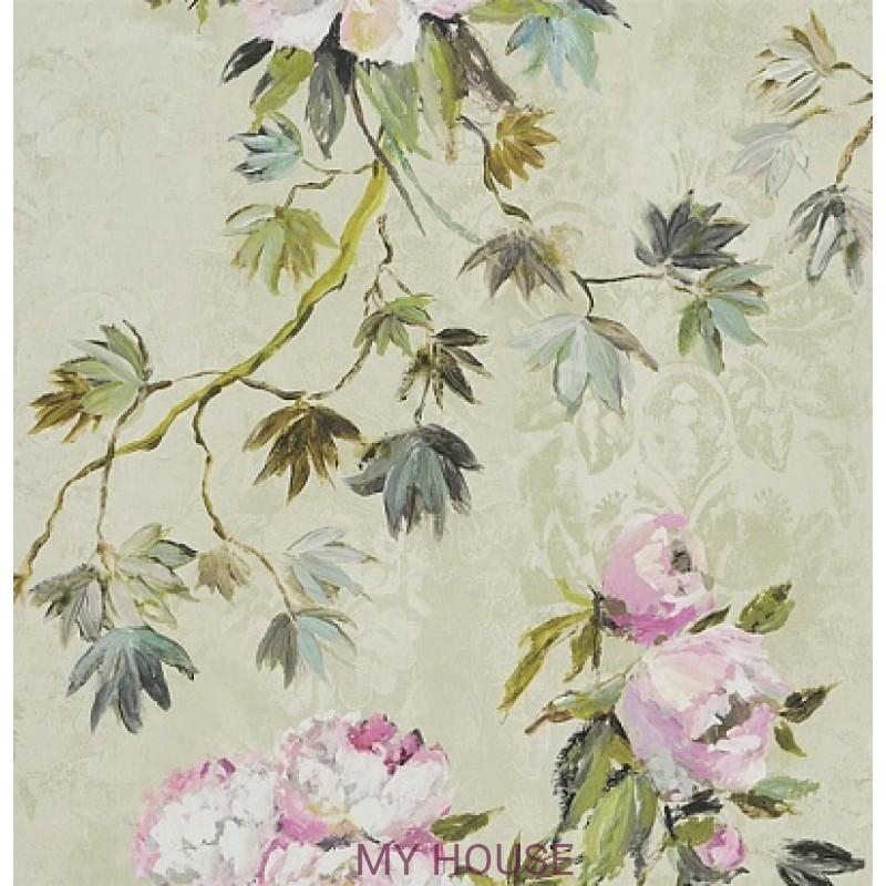 Обои Caprifoglio wallpapers PDG673/01 Floreale Natural Designers