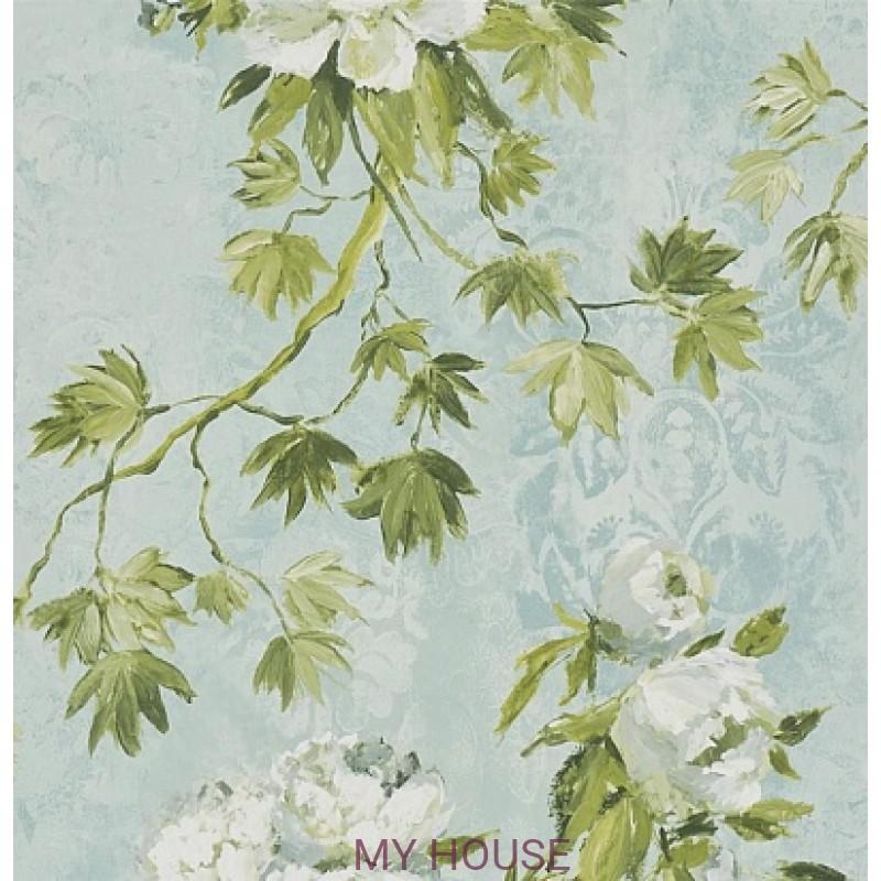 Обои Caprifoglio wallpapers PDG673/02 Floreale Celadon Designers