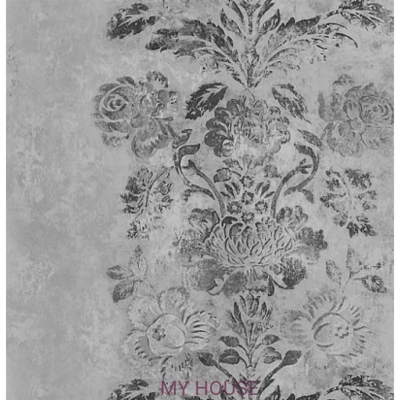Обои Caprifoglio wallpapers PDG674/04 Damasco Slate Designers Gu